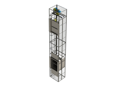 مصاعد نقل الطعام Dumbwaiter Food Elevators