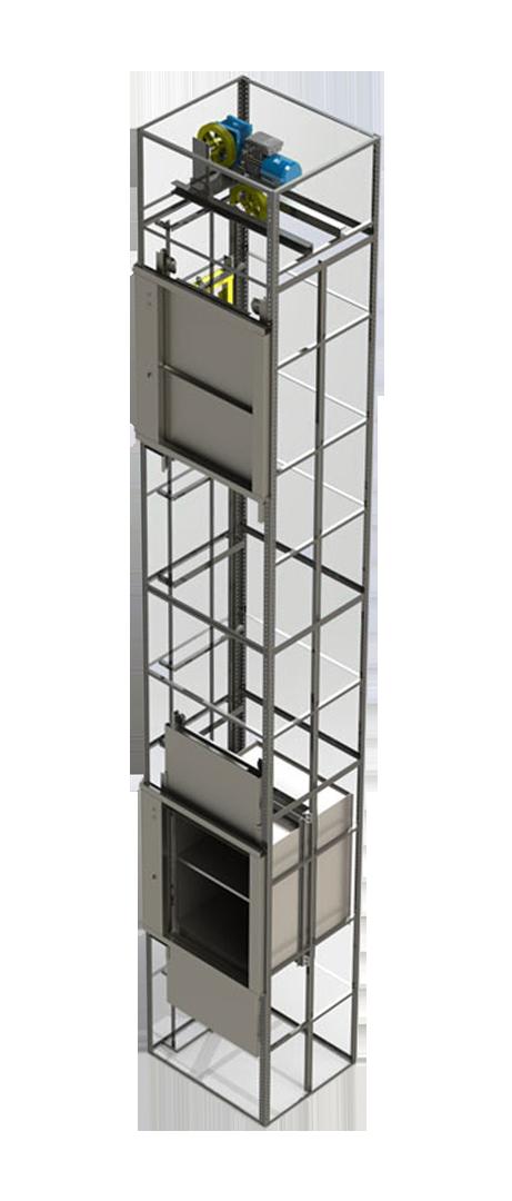 مصعد لنقل الطعام