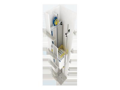 مصاعد الجيرليس Gearless Elevators