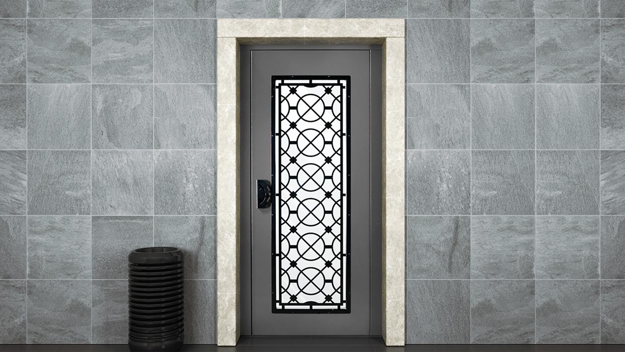Traditional manual doors (semi-automatic)