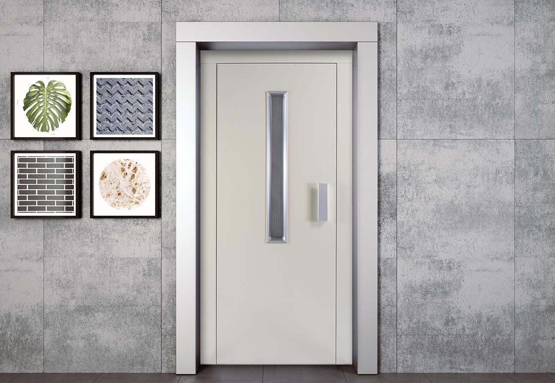 Manual elevator door - HAS STANDARD