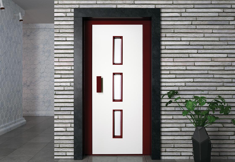 Manual elevator door - RAL HAS 01