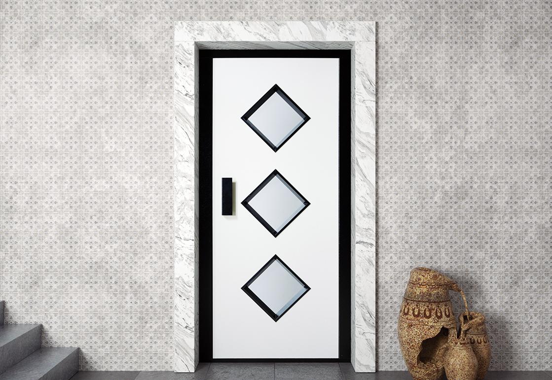 Manual elevator door - RAL HAS 05