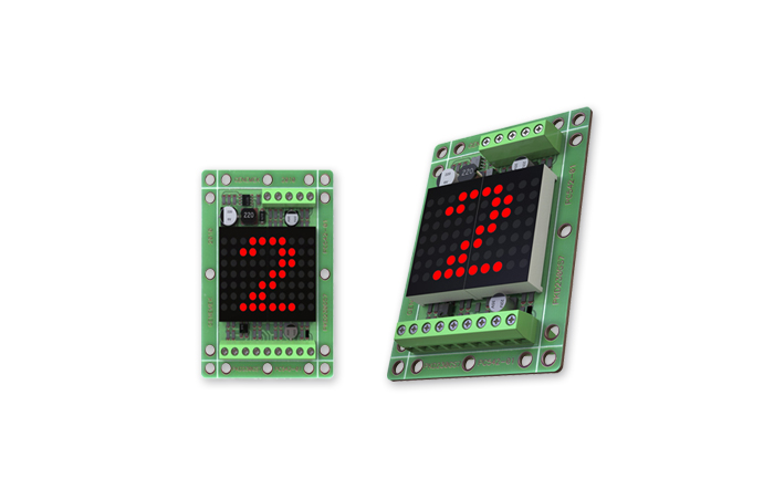 LED Dotmatrix Indicator