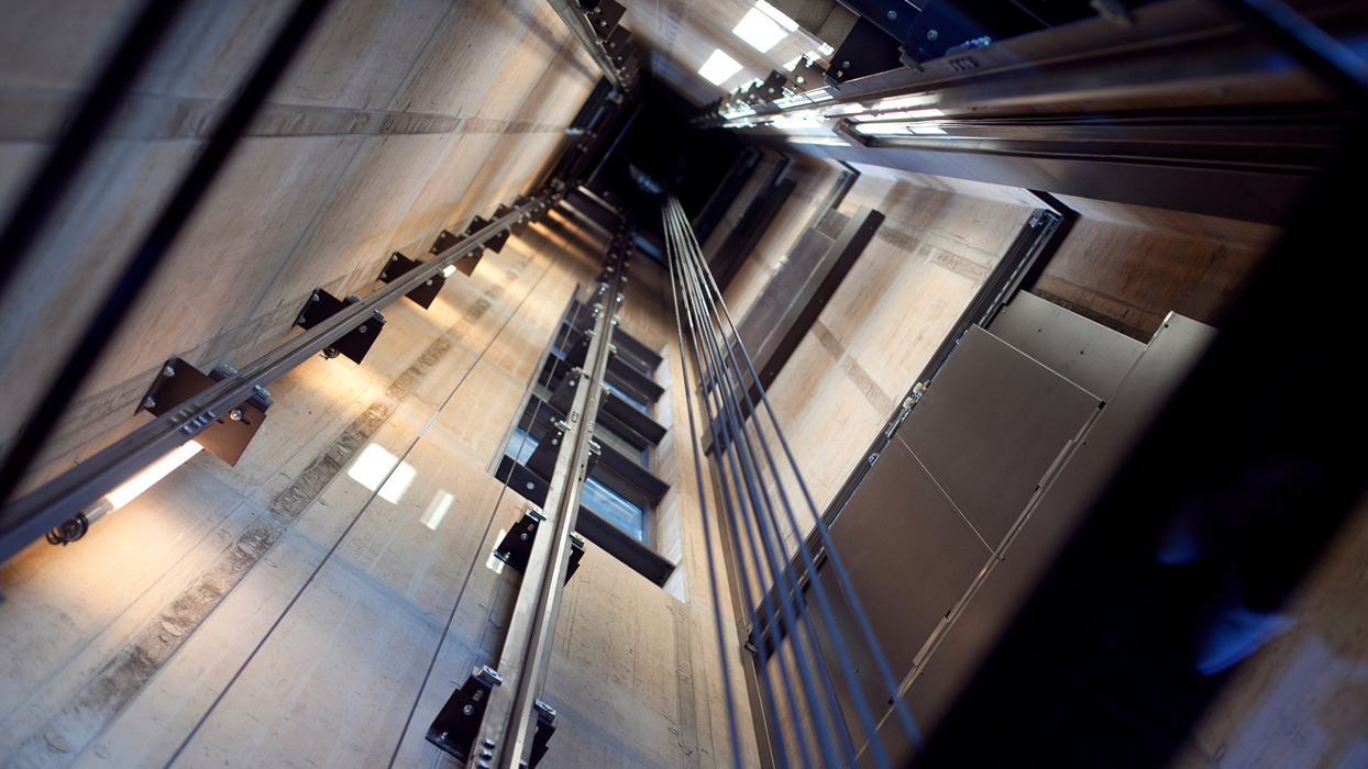 Installation, maintenance and upgrade services for elevators